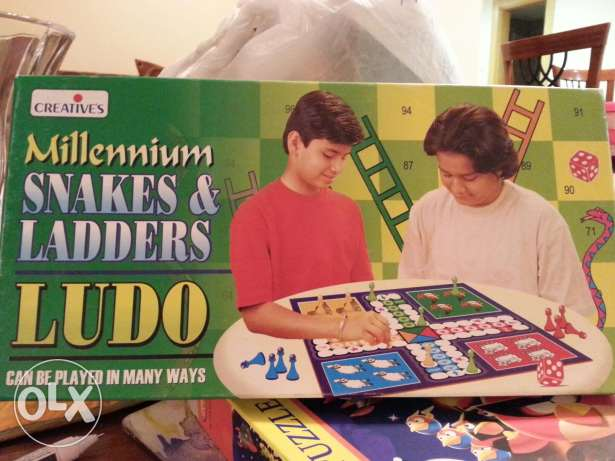 Snakes & ladder and ludo