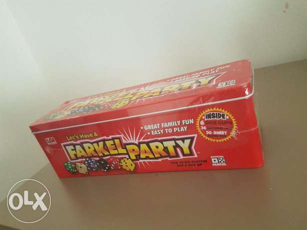 Farkle party game