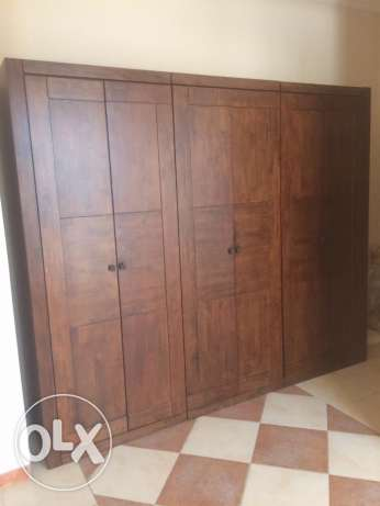 3 double door wardrobe