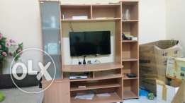 "Sony TV 32""LED with TV stand with book shelf for urgent sale"