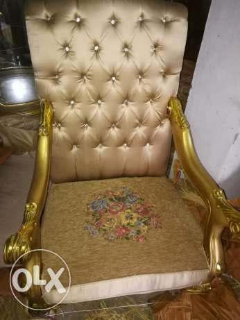 Sofa chairs . Egyptian made صحم -  2