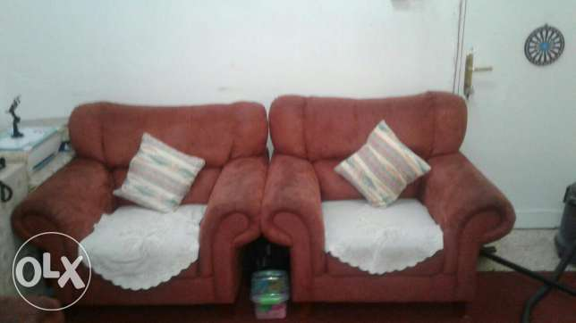 Sofa for sale good condition and comfortable. Slightly negotiable