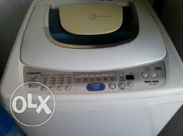 Fully automatic 72L Toshiba washing machine