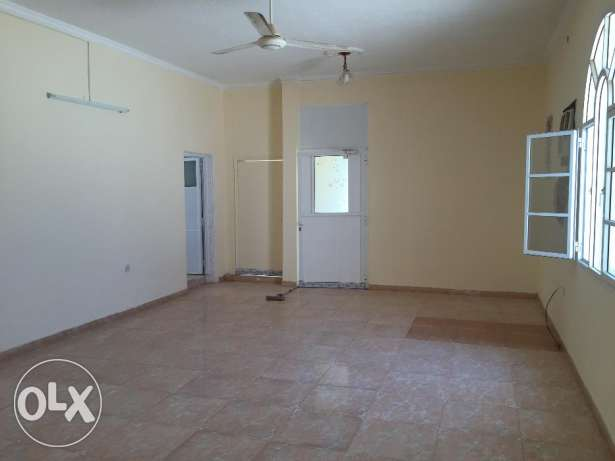 flat for rent in a villa with balcony in almawaleh south مسقط -  2