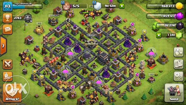 Clash of clans th max