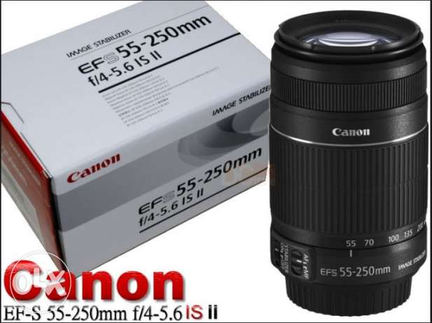 Canon EF S 55 250mm F 4 5 6 IS II مطرح -  1