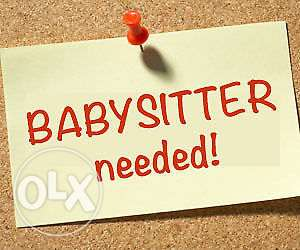 Looking for babysitter .