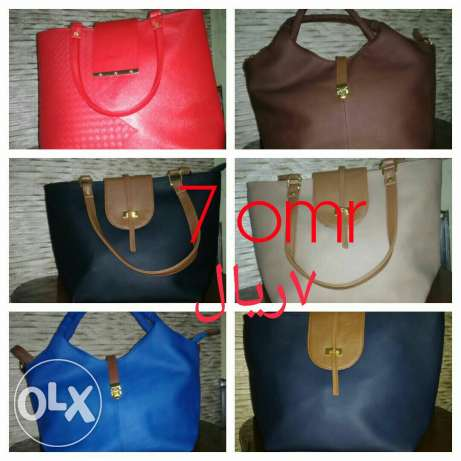 Ladies fashionable bags for a cheapest prices are now on hands .start مسقط -  8