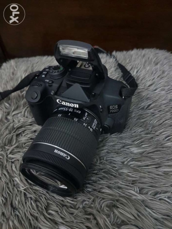 Canon 700D with 18-55 IS STM lens مسقط -  2