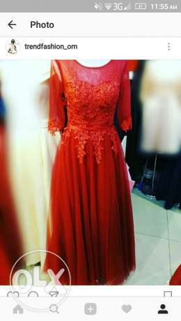 Available Red Dress