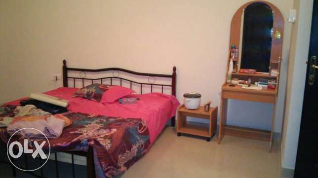 Urgent Sale of Bed,Cot and Dressing Table