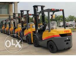 3T diesel forklift with block clamp