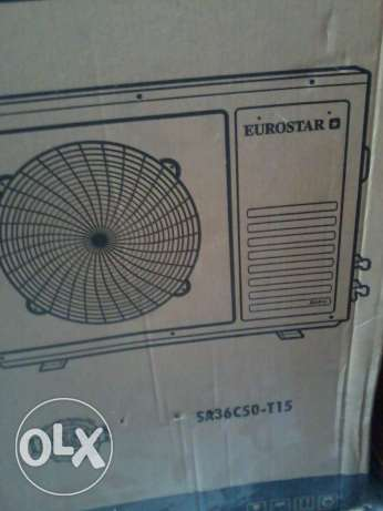 NEW not used 3 Ton Split ac Eurostar for imed sale NEGOTIABLE Slightly