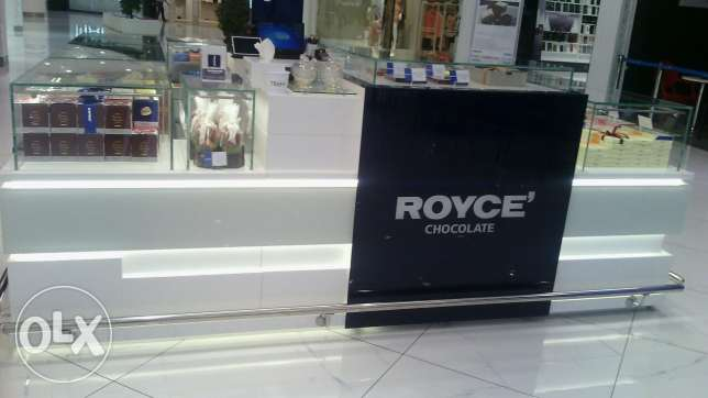 Display counter at shop/malls