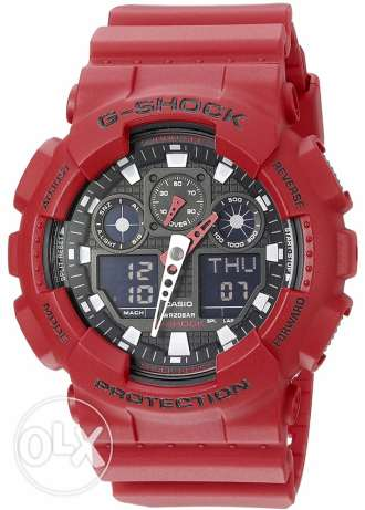 G Shock GA-100B-4ADR For Sale. Unused like New Great Price