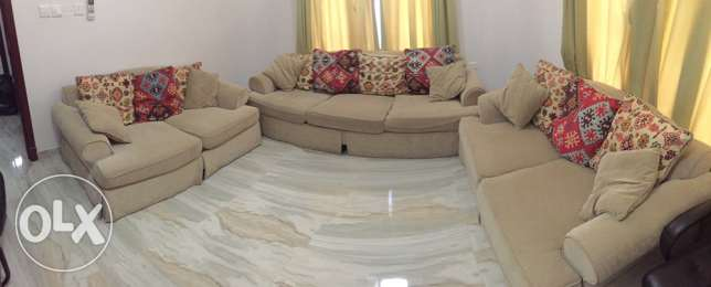 sofa for sale طقم كنبه للبع