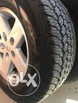 تواير جودير رنجلر goodyear wrangler tires