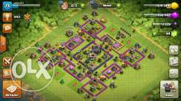 Clash of clans Townhall 9