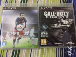 Fifa 16 , Call of duty Ghosts Ps3