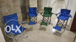 4 camping chairs 15 RO only