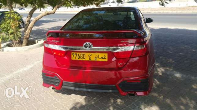 Toyota aurion 2015 sport under warranty low millage (14000km) only مسقط -  2