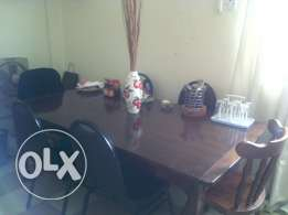 Dining table wt Chairs