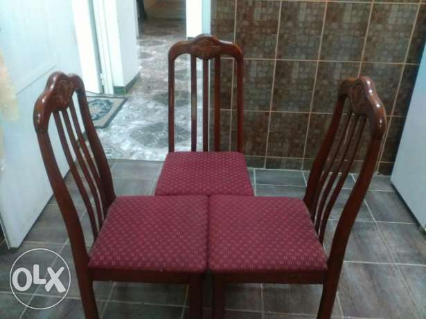 Dining chairs 3 nos.