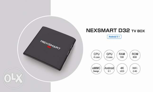 The bes offer for NEXSMART Android TV Box with kodi مسقط -  6
