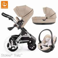 stokke crusi 3 in 1 set with carrycot