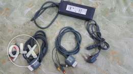 Microsoft xbox ac adapter and hd cables