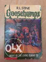 Night Of The Living Dummy book of goosebumps