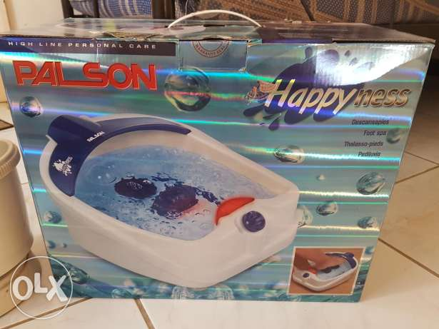 Palson foot spa in excellent condition hardly used