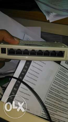 Network switch with ADSL splitter for just 2 riyal