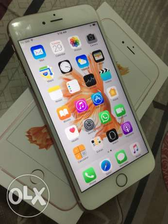 Apple iPhone 6s plus 64GB Rose Gold with warranty مسقط -  2