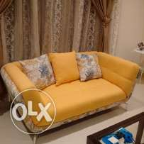 3+2 seater Home Centre sofa, barely used for 9months