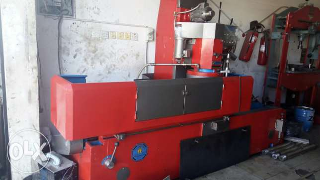 Hed faising machine