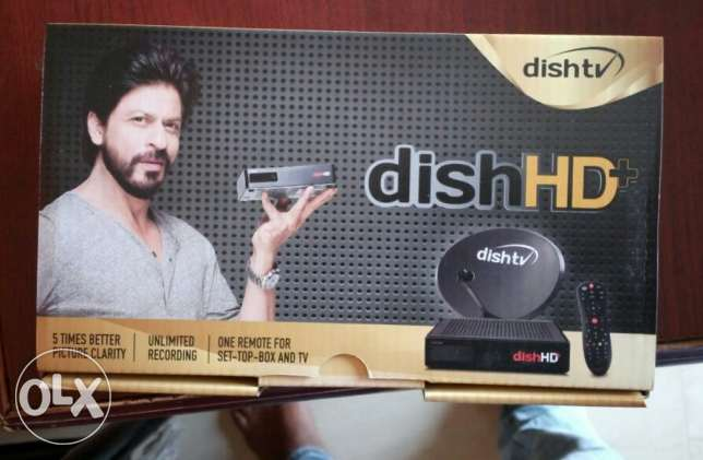 Dish TV HD India receiver brand new South Platinum full HD 3 month pa