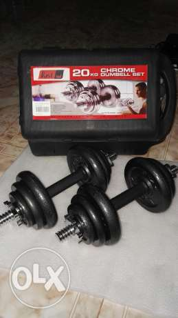 20KG Chrome Dumbell