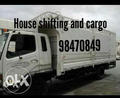 House shifting and cargo
