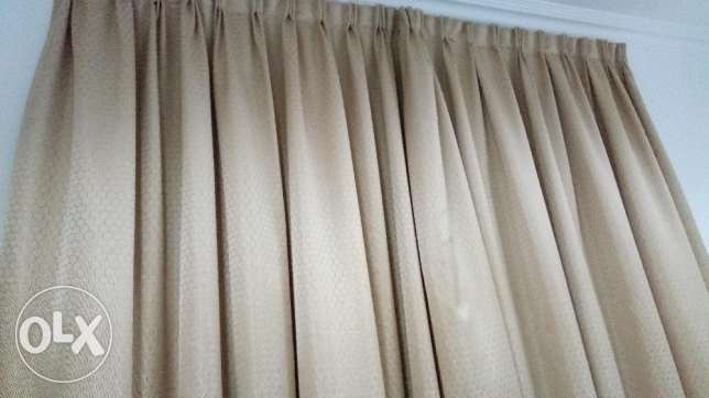 Curtain With Fittings- 3 Nos Full Length
