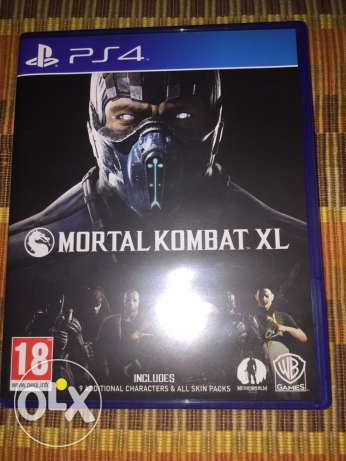 mortal kombat XL with DLC مسقط -  1