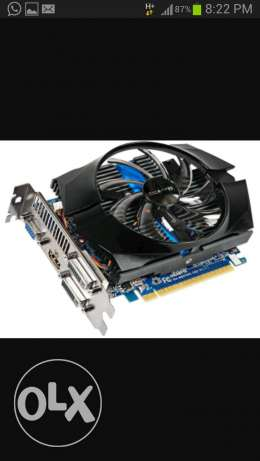 Nvidia geforce gtx 650 (or exchange)