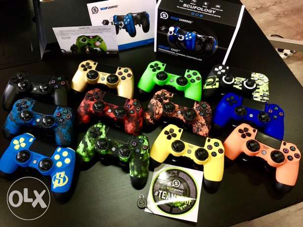 SCUF controllers for PS4 & Xbox one