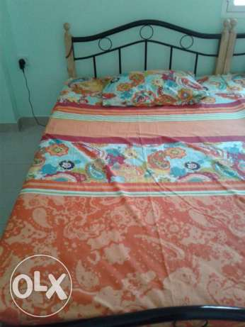 Bed With Mattress (Good condtion)