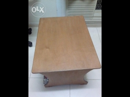 one wooden center table -available for sale