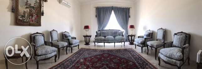 Royal sofa set with dinning table and chairs