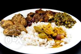 kerala style dinner and lunch available as mess ( monthly payment)