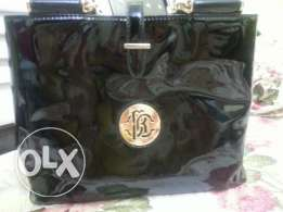 Leather bag شنطة جلدي لامع