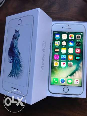Original apple iphone 6s silver color-cheap price tag