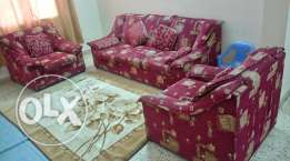 3 + 1 +1 seater sofa in good condition